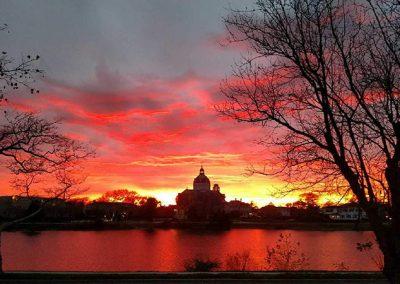 St. Catharine Sunset